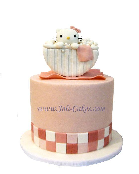 Hello Kitty Bubble Bath Cake Cakes Cake Decorating Daily