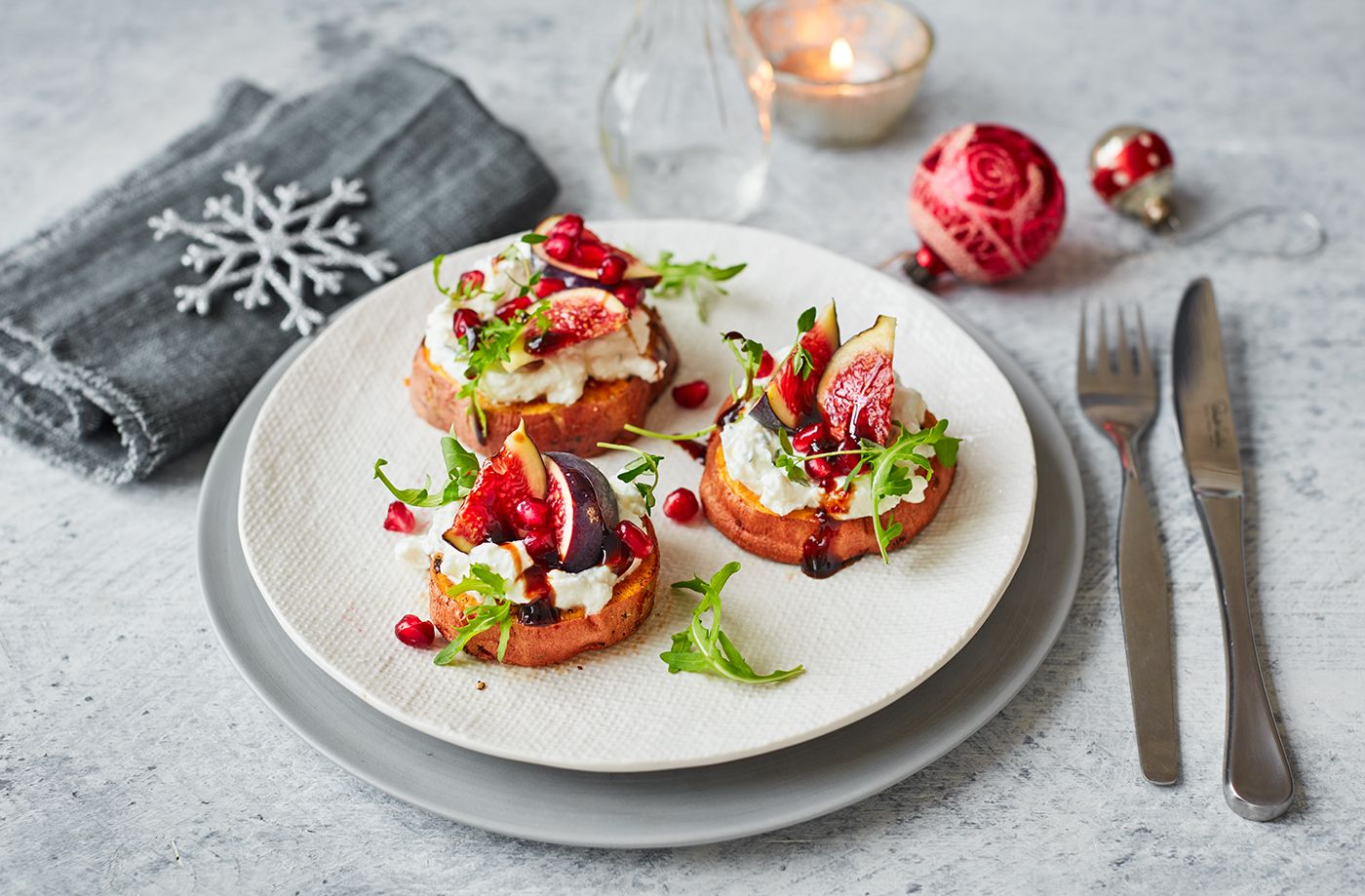 Roasted sweet potato rounds Recipe in 2019 Christmas