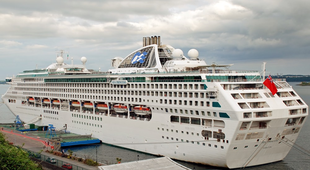 Sea Princess cruise ship in 2020 Princess cruises, World