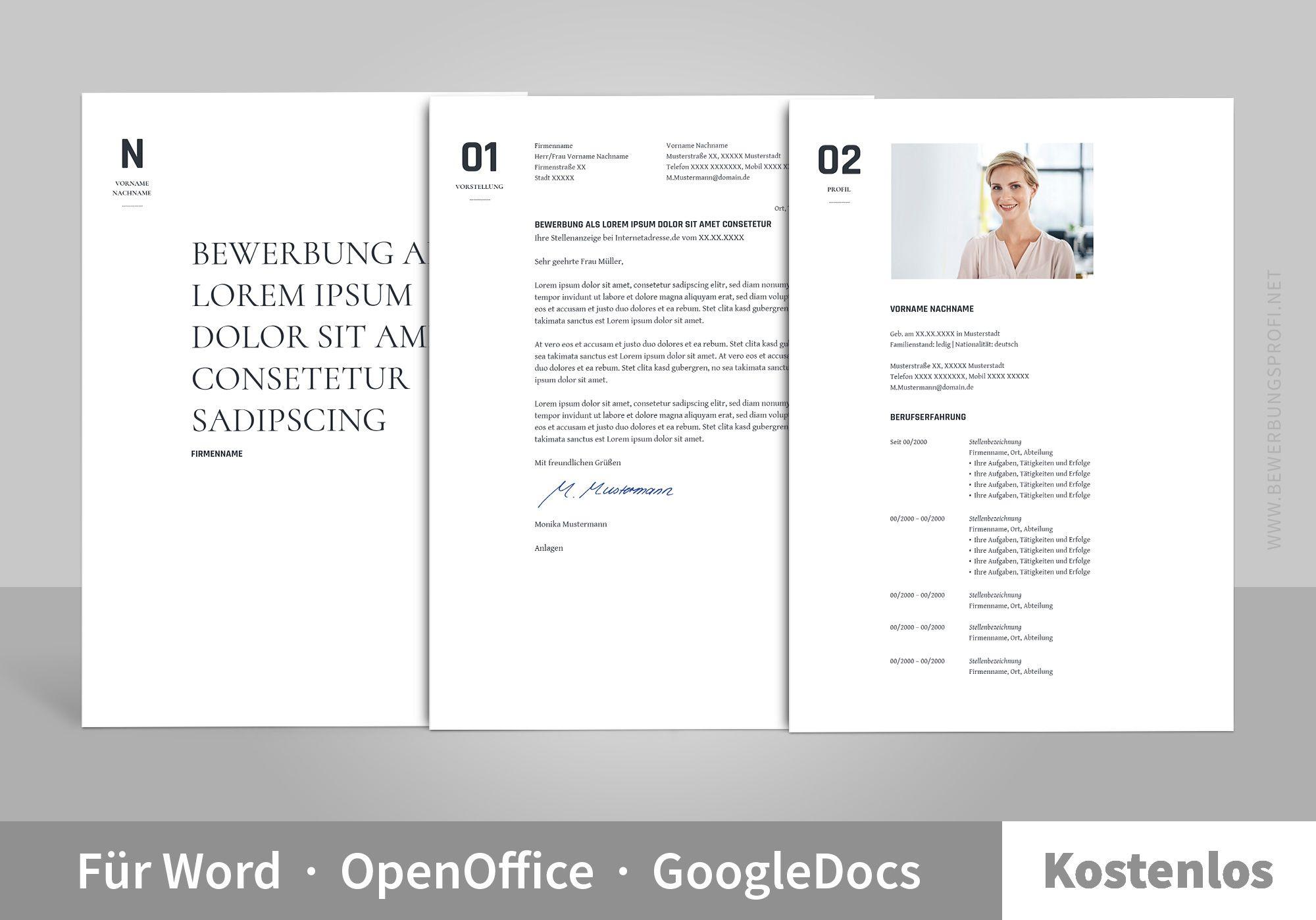Muster Bewerbung Orio Bewerbung Design Vorlagen