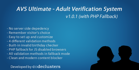 Adult check system verification