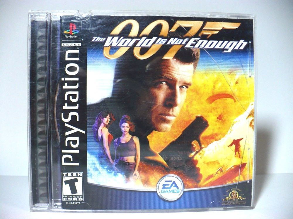 007 The World Is Not Enough Sony Playstation Ps1 2000 Complete
