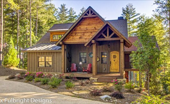 Mountain House Plans by Max Fulbright Designs