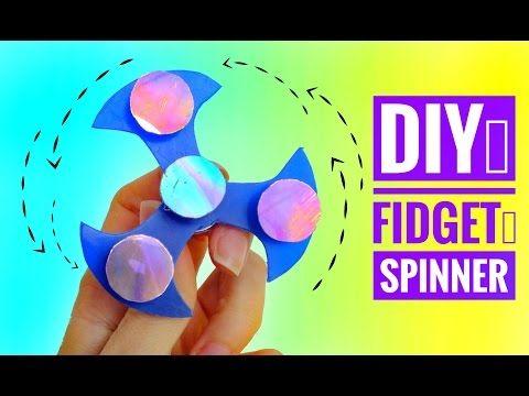 DIY C³mo hacer un FIDGET SPINNER y rodamiento CASERO