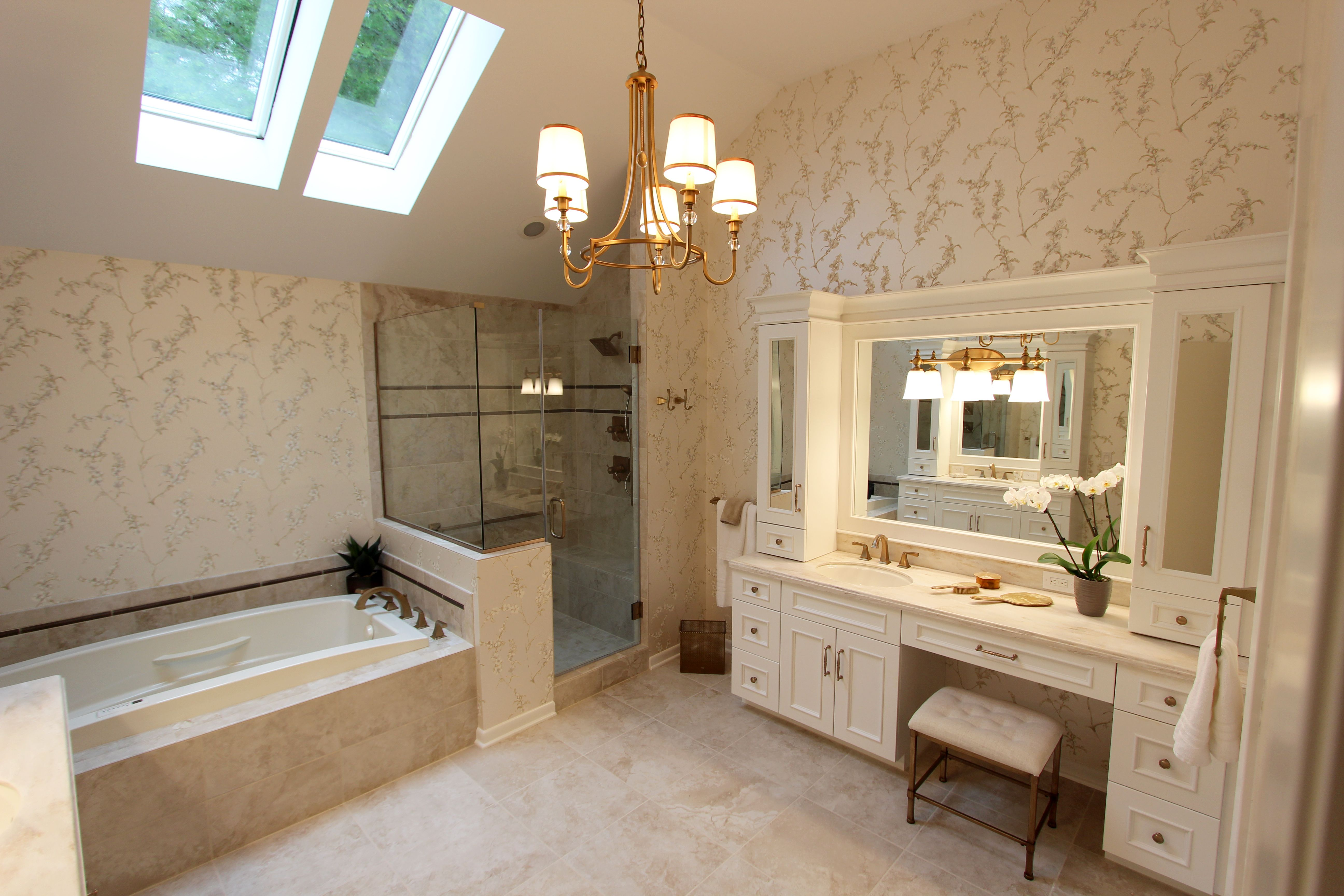Bathroom Renovation Newcastle in this master bath renovation, we installed design-craft