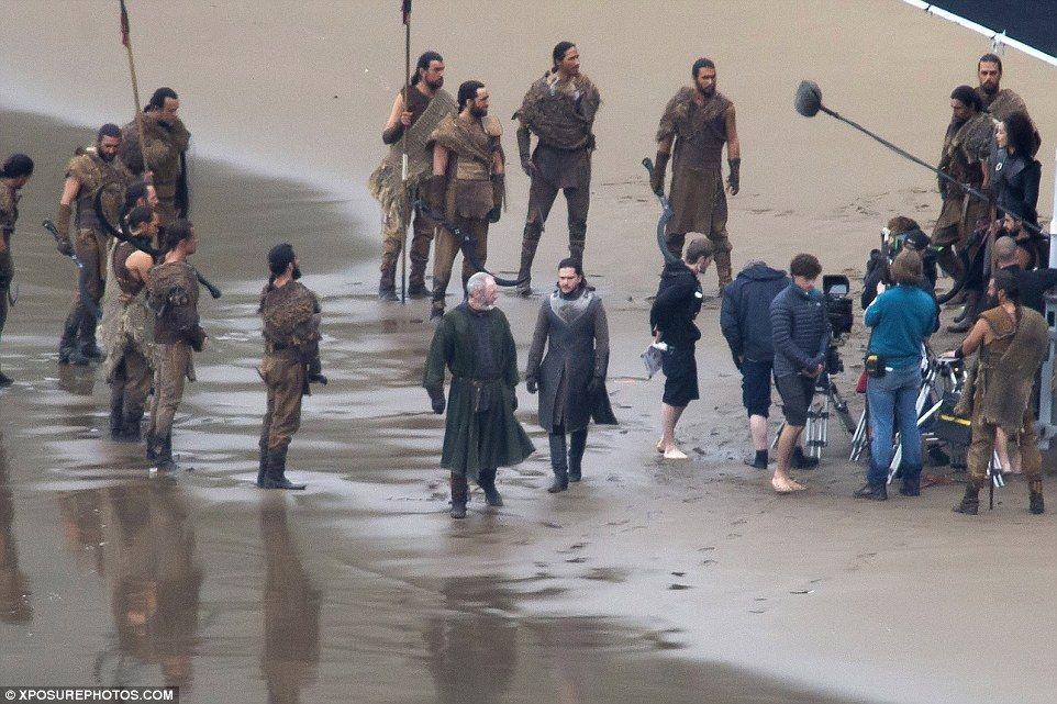 Kit Harinton And Peter Dinklage Film Game Of Thrones Scenes In Spain