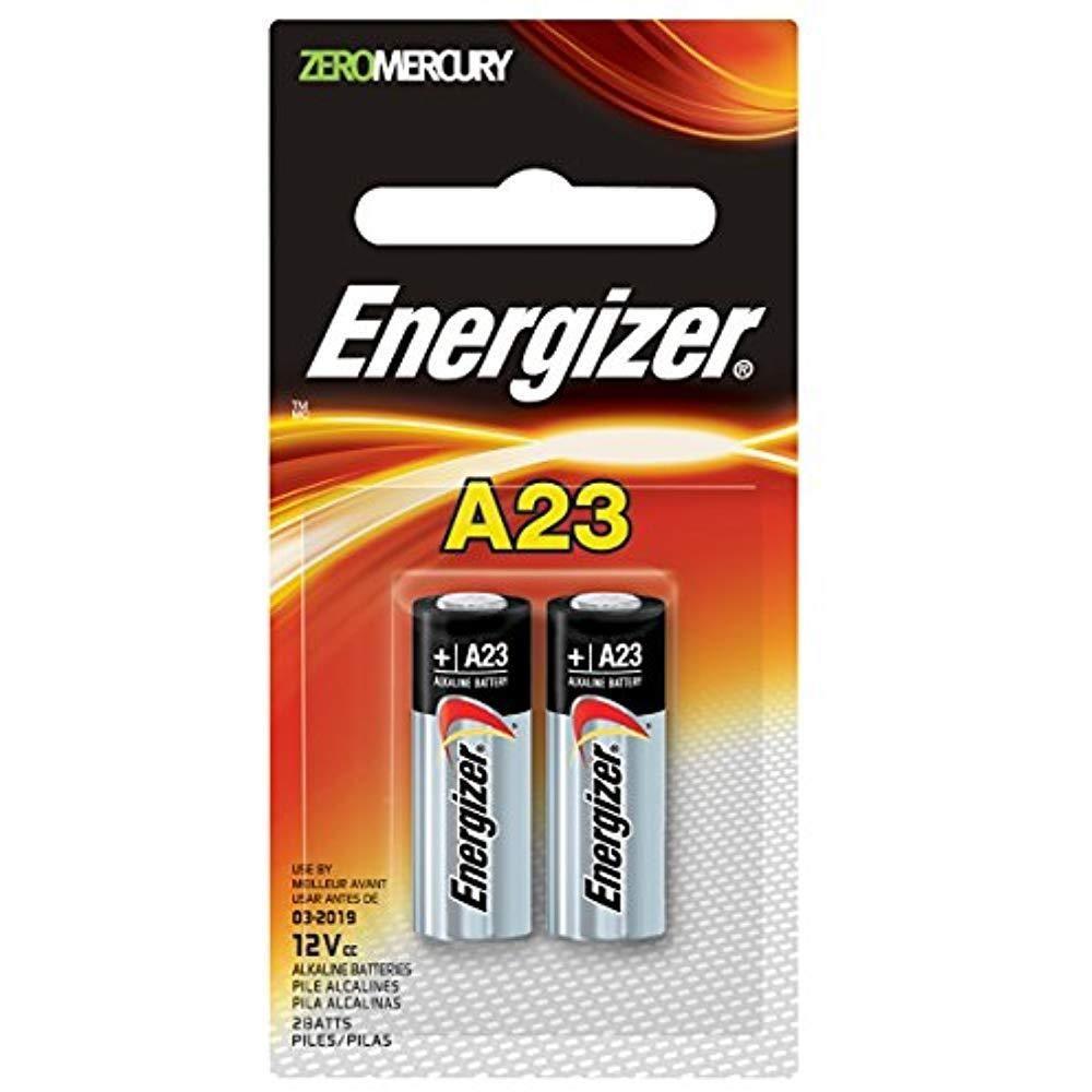 Energizer Alkaline Battery 23a 12v Zero Mercury Long Lasting Keyless Entry 2ea Energizer Battery