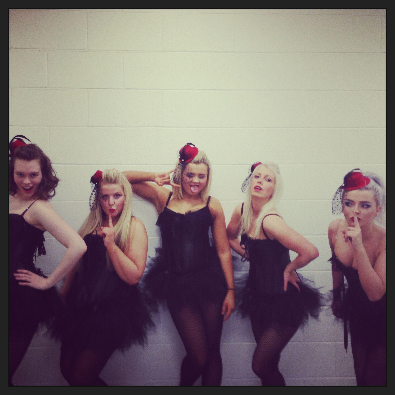 Burlesque chicago routine ecc cheerleading show 2013