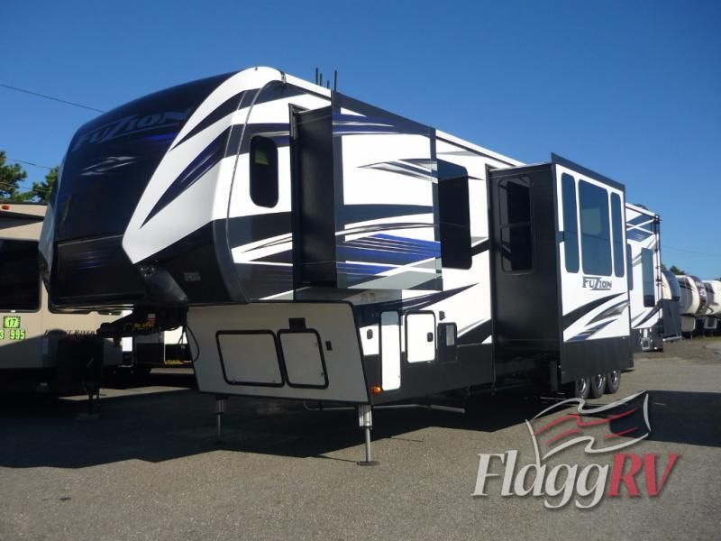 New 2018 Keystone Rv Fuzion 424 Toy Hauler Fifth Wheel At Flagg Rv