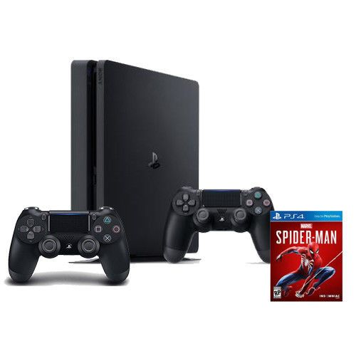 Ps4 Slim 1tb Extra Ds 4 Controller Marvel S Spider Man Us