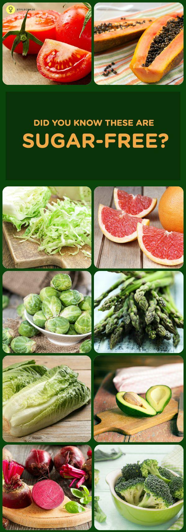 sugar free diet with lots of veggies