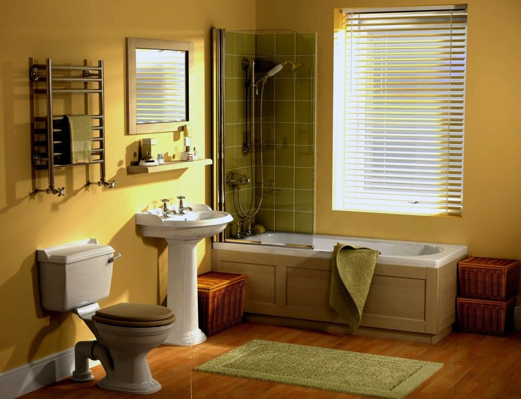 Statuette Of Refresh Your Bathroom with Latest Color Trend Ideas