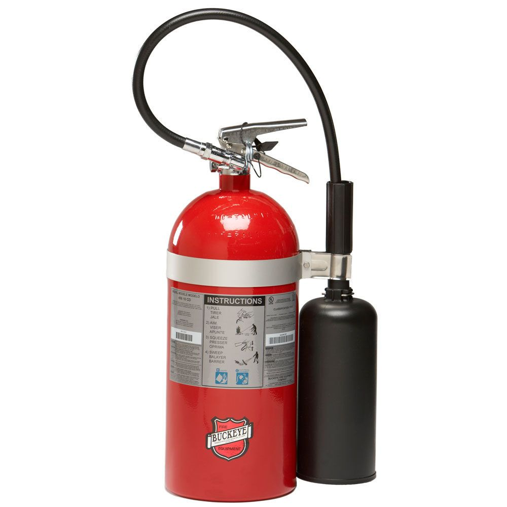 Buckeye 10 Lb Carbon Dioxide Bc Fire Extinguisher Rechargeable Untagged Ul Rating 10 B C Fire Extinguisher Extinguisher Shop Light Fixtures