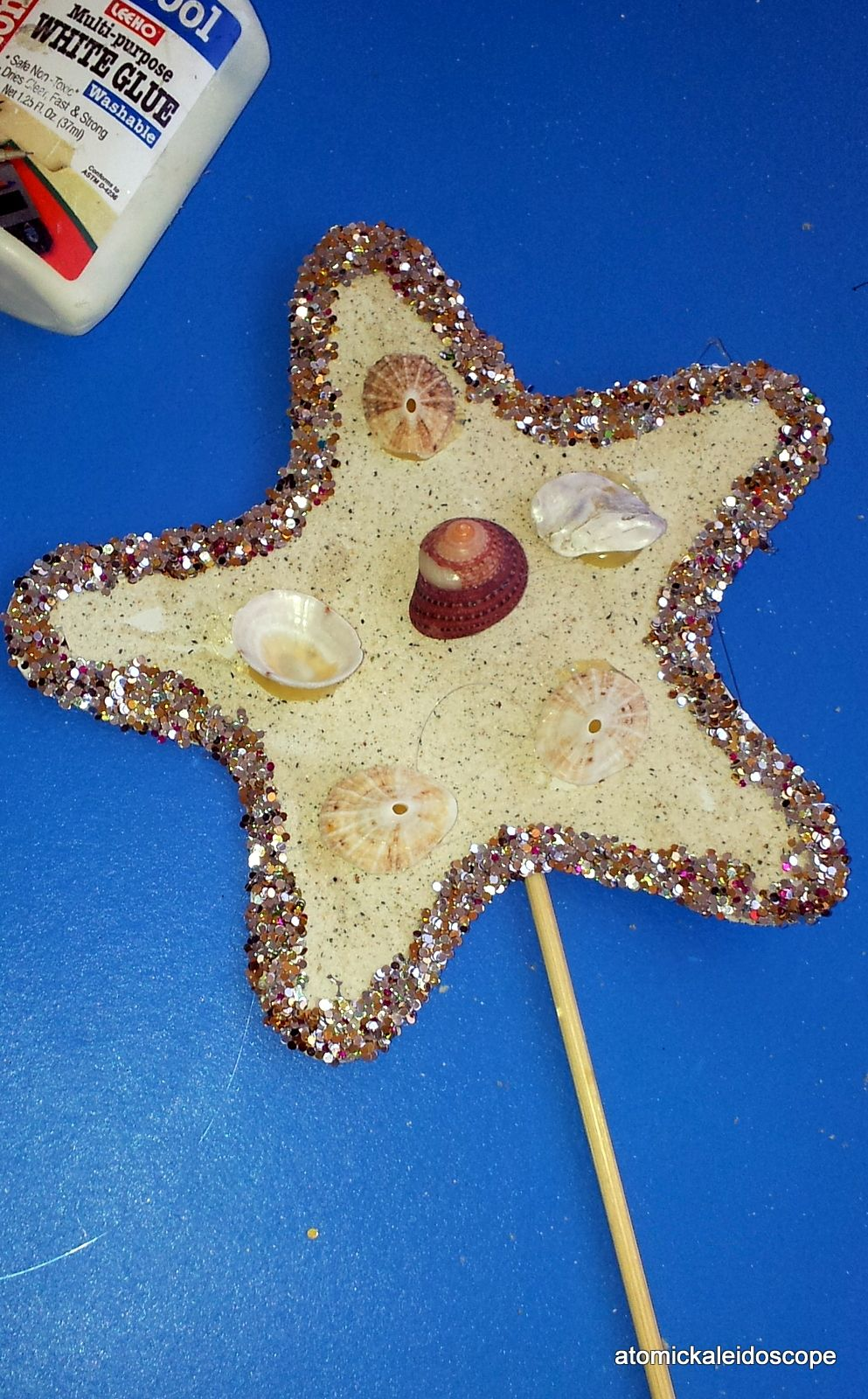 Crafts For Kids Starfish Wand Crafty Me And Craft
