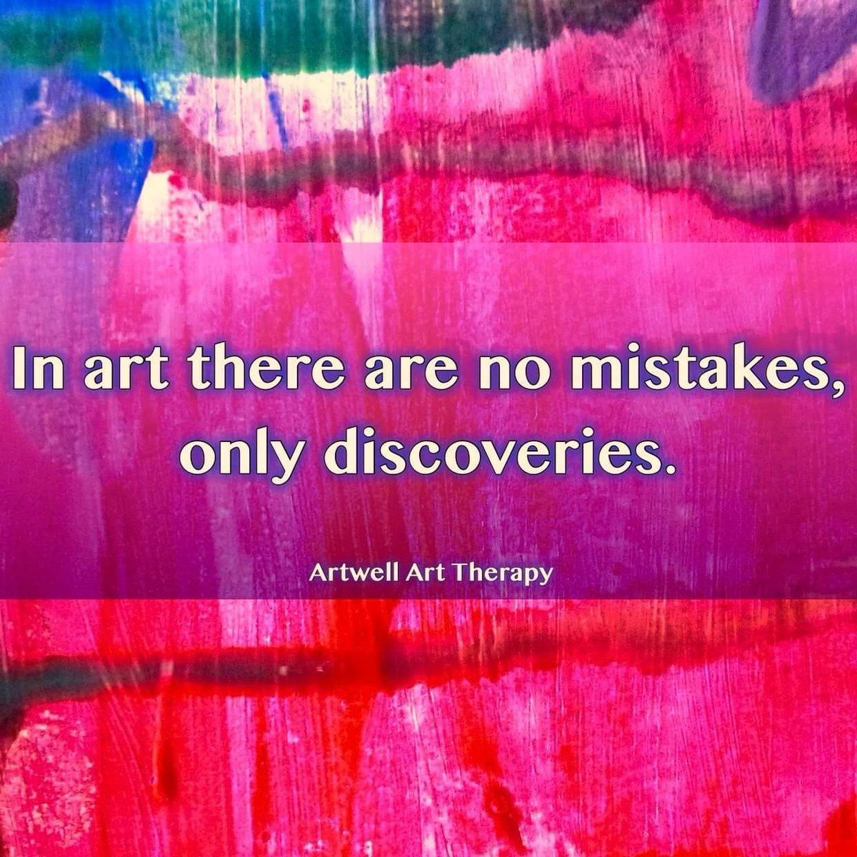 In art there are no mistakes, only discoveries.   Artist quotes ...