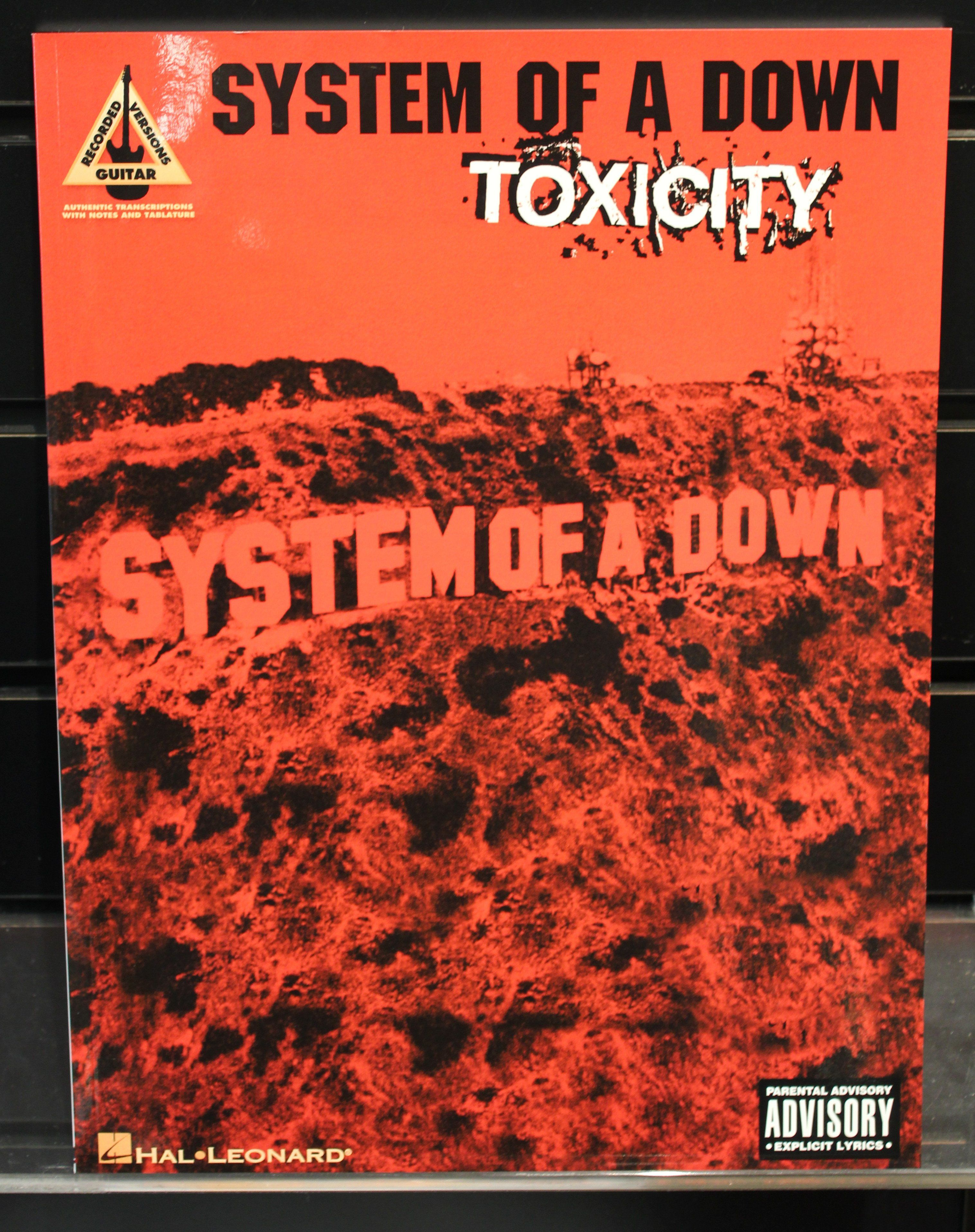 system of a down toxicity バンドスコア 楽器のスコア/楽譜(ポピュラー)の