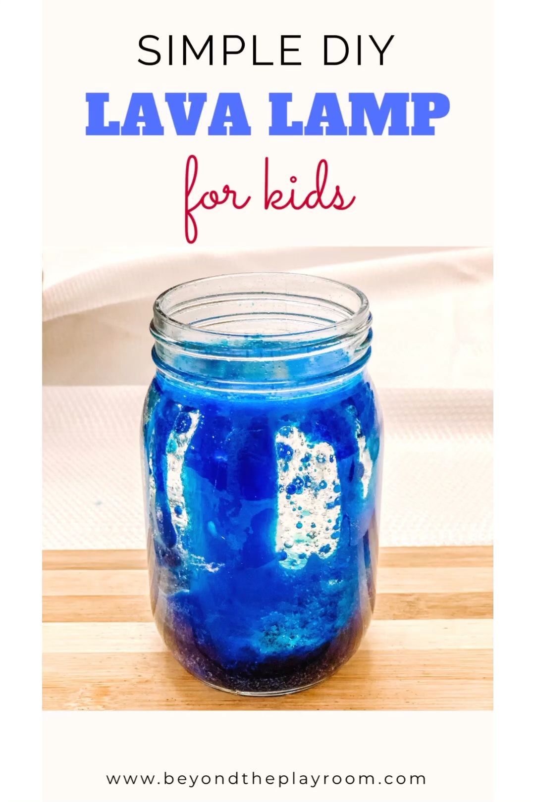 Photo of DIY Lava Lamp for Kids