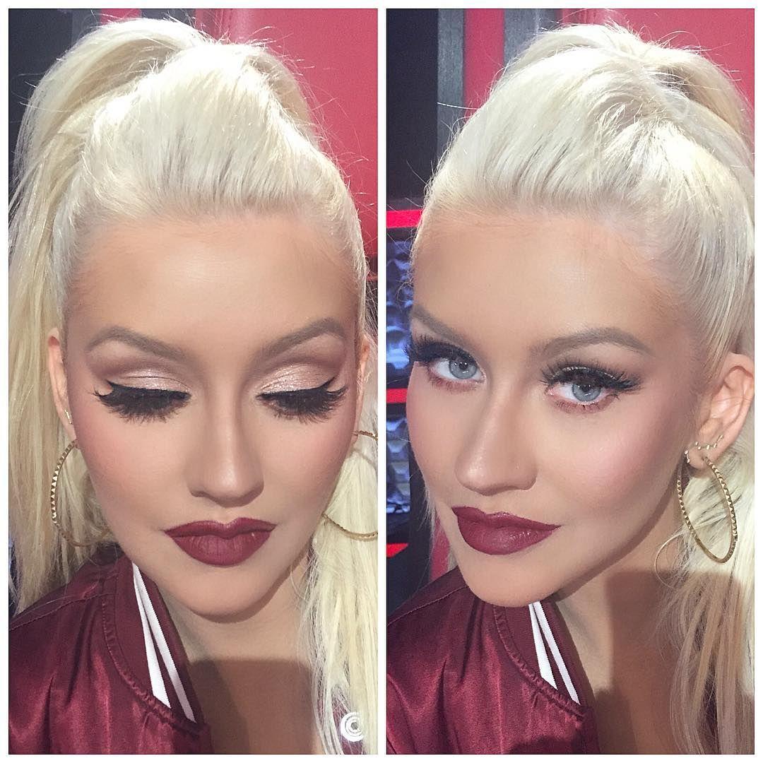 Resultado de imagem para maquiagens christina aguilera