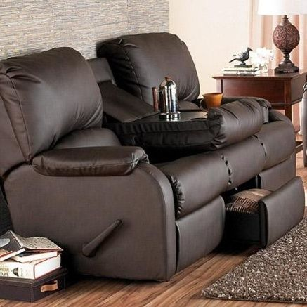 Sofa With Built In Recliner Leather Reclining Sofa Furniture