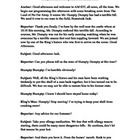 Fairy Tale News Report Script Short Scripts Fairy Tales Script