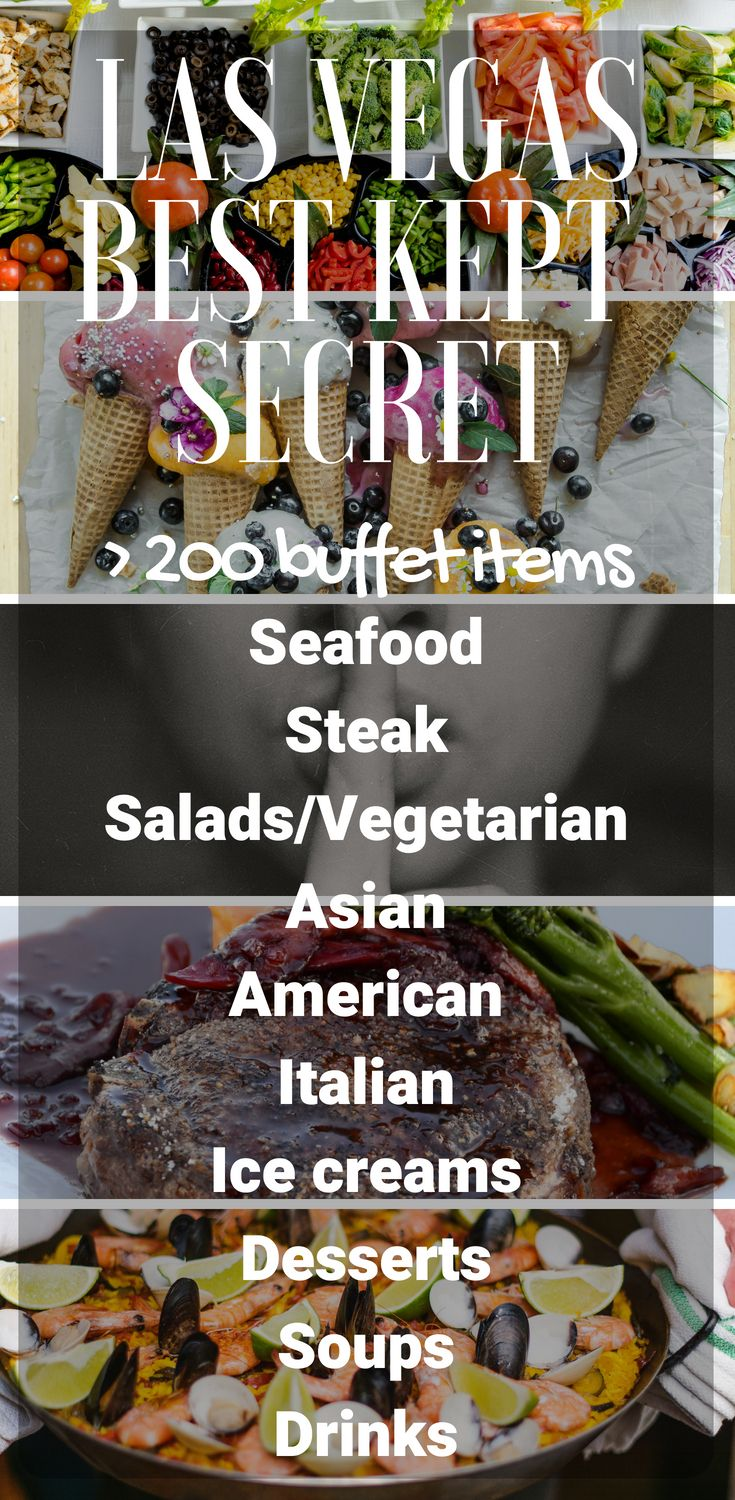 M Resort Buffet With more than 200 food items including