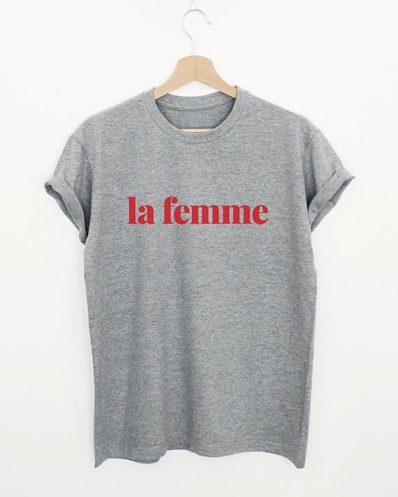 0e3d33981347 la femme T-shirt