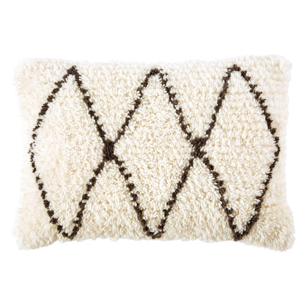 Cuscini 40 X 60.Cuscino Berbero In Lana E Cotone 40x60 Moroccan Cushions