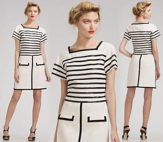 Jean Paul Gaultier Sequined Shift Dress SAKS