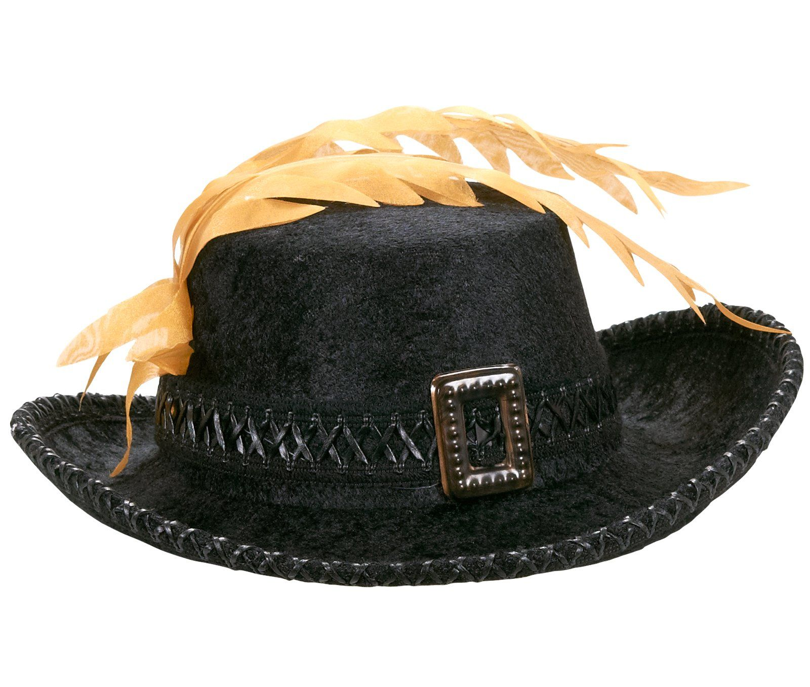 Caribbean Pirate Jack Hat Mens Ladies Brown Pirates Party Fancy Dress Accessory