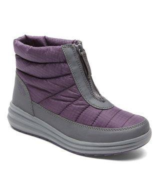 Purple Beth Snow Boot Chaussures Rockport 1b719689ac
