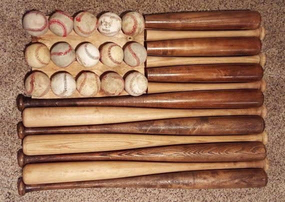 Baseball Bat Flag By Bothfeetinthesand On Etsy Better Fireplace Mantle
