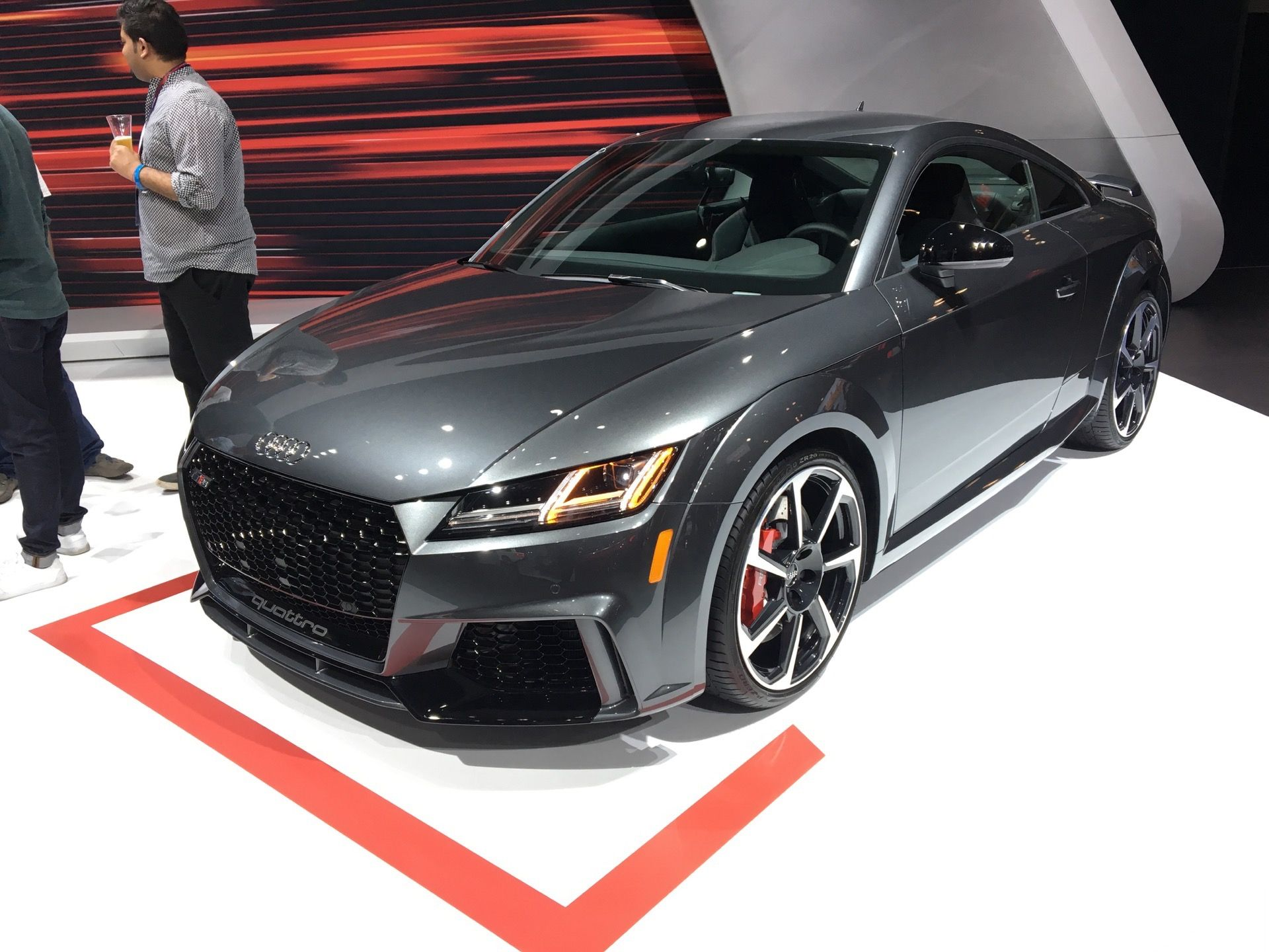 New York Auto Show Audi TT RS Makes American Debut Audi - Who makes audi cars