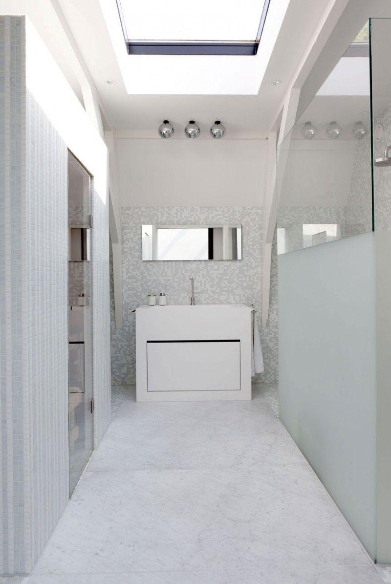diseño de interiores & arquitectura: casa con claraboyas