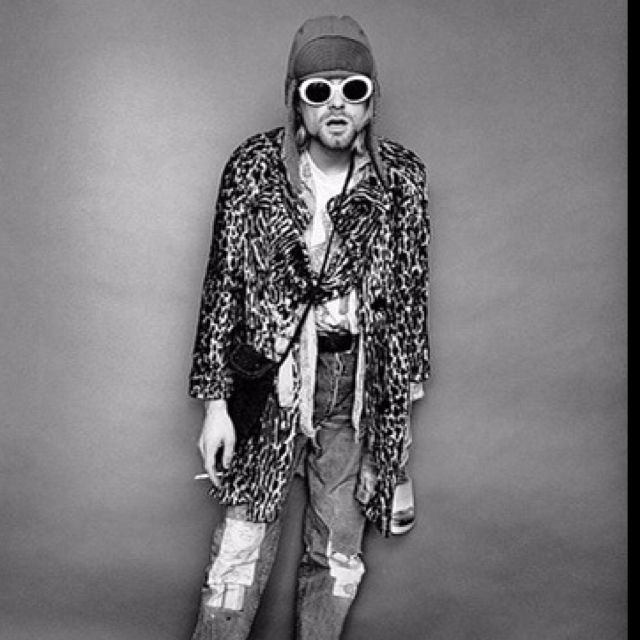 """Jesse Frohman: Curt Cobain, Smoking.""  Miss that kid."