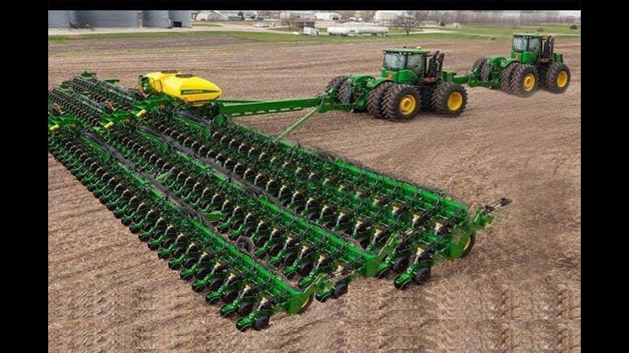 World Amazing Modern Agriculture Heavy Equipment Mega Machines