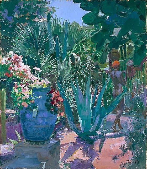 Brindille On Jacques Majorelle Jardin Majorelle Et Peinture De
