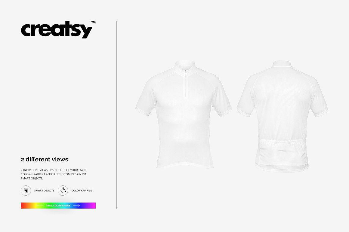 Bike Jersey 2 Mockup Set Net Behance Creatsyofficial Instagram