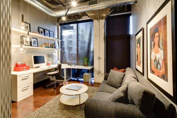 Office Industrial Office Design Minimalist Industrial Home Office Industrial Home Offices Loft House Design Home