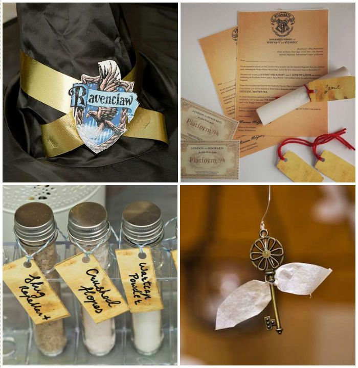 Harry Potter Party Via Karas Ideas KarasPartyIdeas 1