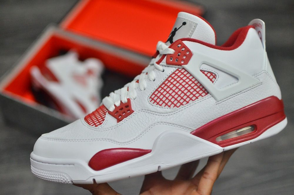 nike air jordan iv retro alternate 89 tri-level