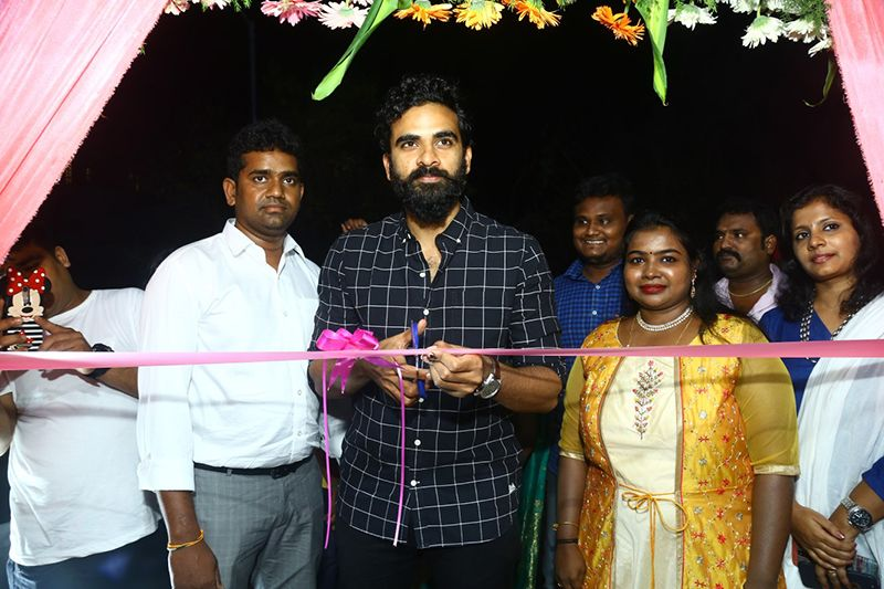 Actor Ashok Selvan Inaugurate Toni & Guy Essensuals branch in Kottivakkam