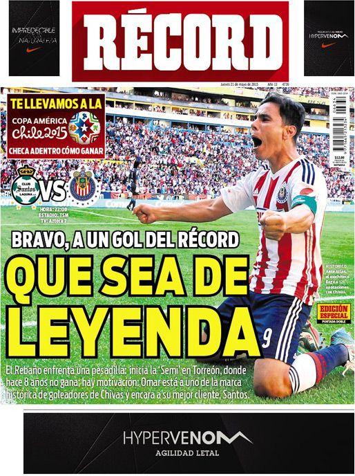 México - RÉCORD 21 mayo del 2015
