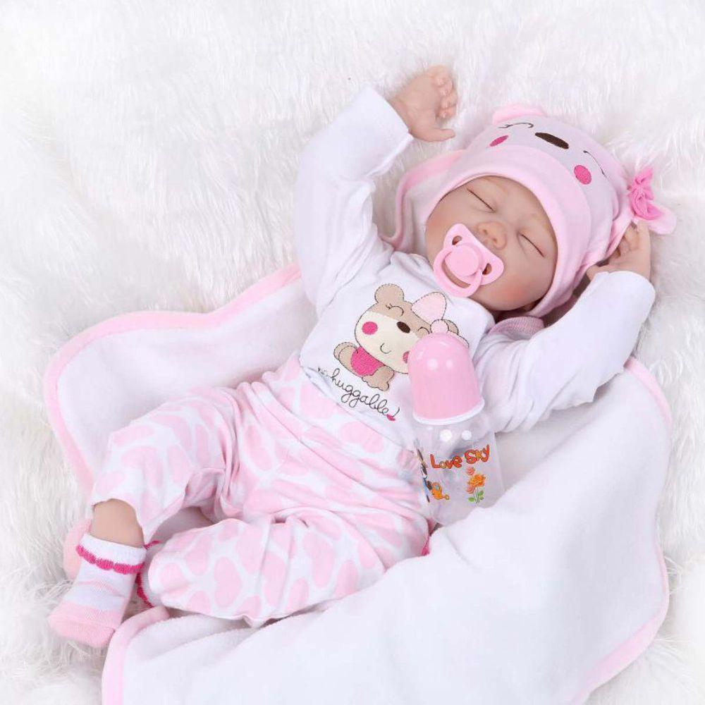 Vinyl Puppe Silikon puppen Babypuppe lebensechte puppen Mädchen
