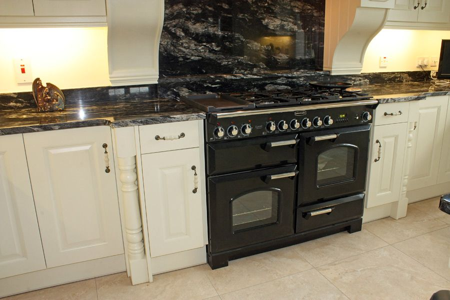 cosmic black granite worktops - Google Search | Black ... on Maple Cabinets With Black Granite Countertops  id=88948
