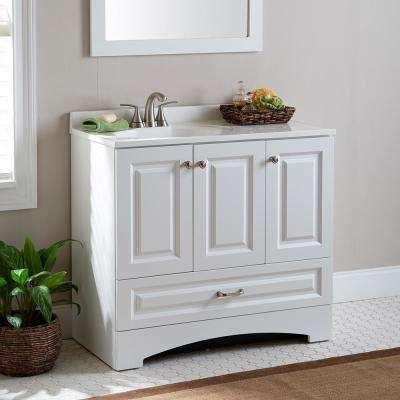 36 Inch Vanities Freestanding Sink On Left Side 4 Up