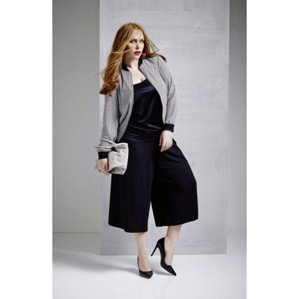Sallie Sahne Blouson / jack Canny - Grote maten blazers & jasjes - Winkel op kledingstuk