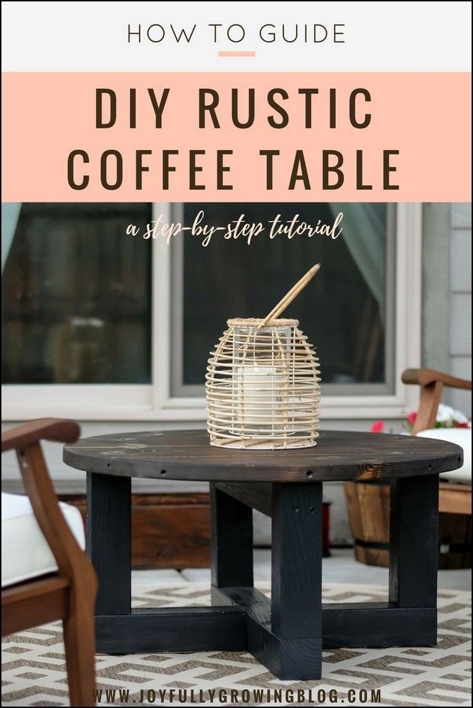 134 awesome diy coffee table projects page 65 table design diy rh pinterest com