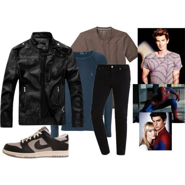 f5b17848b60 (The Amazing Spider Man) Peter Parker Outfit by ghostmanl on Polyvore  featuring Polo Ralph Lauren