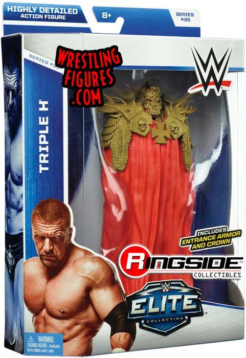 Triple H Basic Series 35 WWE Mattel Wrestling Figure