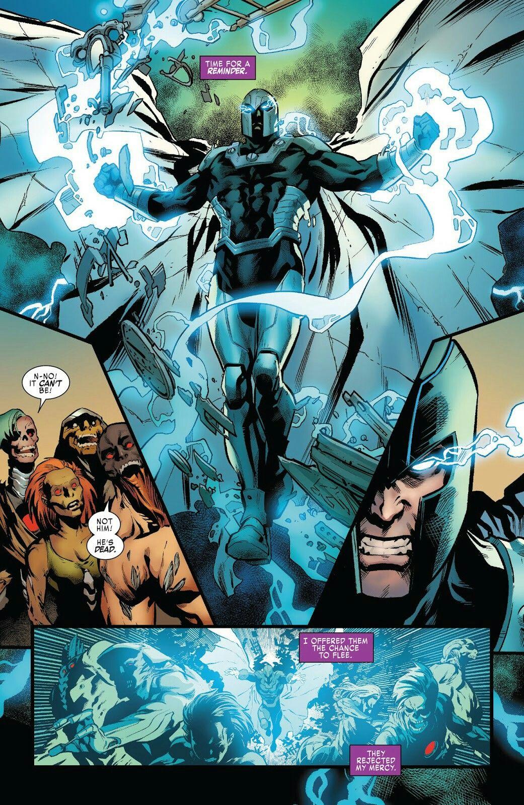 X Men Blue 33 Magneto Marvel Villains Marvel Comics Art Comic Villains